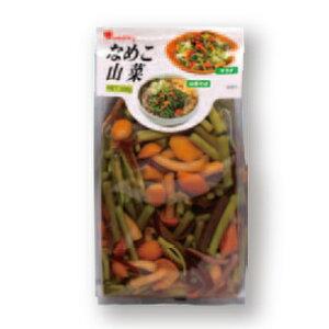 なめこ山菜500g『信州蕎麦 のせるだけで山菜そば』