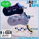 ザジーザップス Zazzy Zaps スニーカーソックス 『トライアングル(スニーカー)』(SS/S)--ユアーズアーミーワー…
