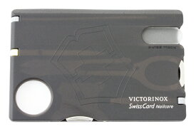 【メール便OK】VICTORINOX(ビクトリノックス) スイスカードネイルケアブラック (0.7240.T3)【並行輸入品】