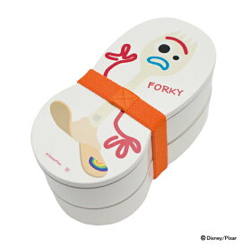 ディズニー 漆器二段弁当箱 フォーキー トイ・ストーリー4 お弁当箱 ランチベルト付 disney FORKY