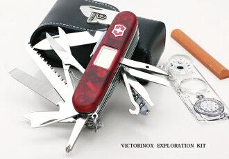 VICTORINOX(魚籃鳥類敲門)旅行者堪探配套元件(1.8741.AVT)