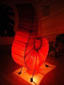 間接照明 スタンドライト (コットンファロランプ(M)) アジアン照明 バリ おしゃれ フロアスタンド エスニック リゾート