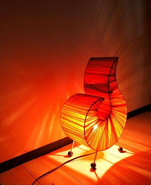 間接照明 スタンドライト ♪コットンファロランプ(S)♪ 【ヤヤパプス】 アジアン照明 バリ おしゃれ フロアスタンド エスニック