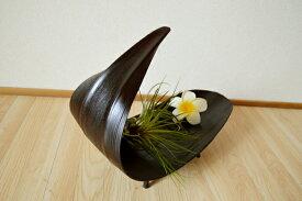 アジアン雑貨 バリ (ヤシリーフトレイ(ダークブラウンカラー)) トレイ 小物入れ 花器 プランター エスニック リゾート