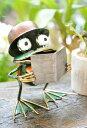 アジアン バリ 雑貨 カエル グッズ 置物 ♪アイアンカエル(楽譜)♪ 【ヤヤパプス】 アジアン雑貨 おしゃれ インテリ…