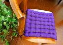 ★キャッシュレス5%還元対象★シートクッション チェアパッド チェアマット 椅子用座布団 アジアン バリ 雑貨 ♪ひも…