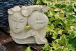 アジアンバリ雑貨♪ライムストーンバリレディオブジェ♪【送料無料】おしゃれインテリアエスニックオブジェ置物石灰岩