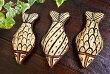 アジアンバリ雑貨♪セジュナン焼き(サカナ)♪おしゃれインテリアエスニックベルベル伝統オブジェ置物