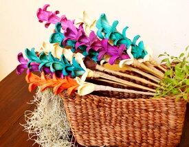 アジアン バリ 雑貨 ♪バリ島のナチュラルリーフ造花♪ おしゃれ インテリア エスニック 造花 ナチュラル素材