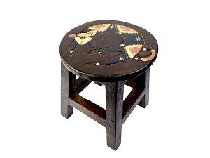 いす 椅子 イス コンパクトチェア アニマル ステップチェア 踏み台 アジアン家具 バリ ♪バリ島のスツール(ネコ)♪ おしゃれ インテリア エスニック インテリア雑貨 デザイン家具 リビン