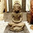 アジアンバリ雑貨♪ハヌマーンの石像♪【送料無料】おしゃれインテリアエスニック置き物オブジェ縁起物エクステリアガーデニング