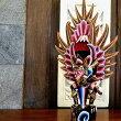 アジアンバリ雑貨♪バリ島のガルーダオブジェ37cm(ブラウン)♪おしゃれインテリアエスニック置き物オブジェ縁起物