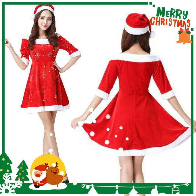 サンタ コスプレ クリスマス 衣装 レディース コスチューム 帽子 仮装 ワンピース 赤 サンタさん サンタコス サンタコスプレ サンタクロース クリスマスパーティー パーティー グッズ サンタ帽子 大人 セクシー パーティ衣装
