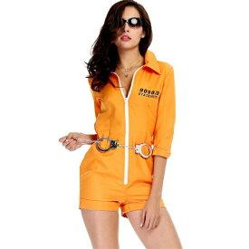0072fb6eb5c03 ハロウィン衣装コスプレ衣装 囚人服 囚人 ハロウィン ポリス ガールズ コスチューム プリズンガール 女性用 大人