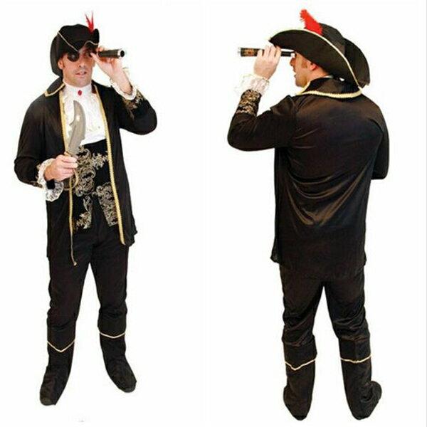 「送料無料」ハロウィン衣装パイレーツ風 オブ カリビアン風 パイレーツ・オブ・カリビアン コスチューム 衣装 ジャックスパロウ コスプレ パイレーツオブカリビアン 仮装 海賊 パイレーツ オブ カリビアン コスチューム 大人用 ジャック船長 8点セット
