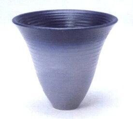 花器 嵐山-218 径220mm高さ190mm 陶器製 プラスチック剣山受付水盤 生け花 いけばな 花瓶 華道用花器 信楽陶土使用
