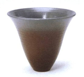 花器 嵐山-217 径220mm高さ190mm 陶器製 プラスチック剣山受付水盤 生け花 いけばな 花瓶 華道用花器 信楽陶土使用