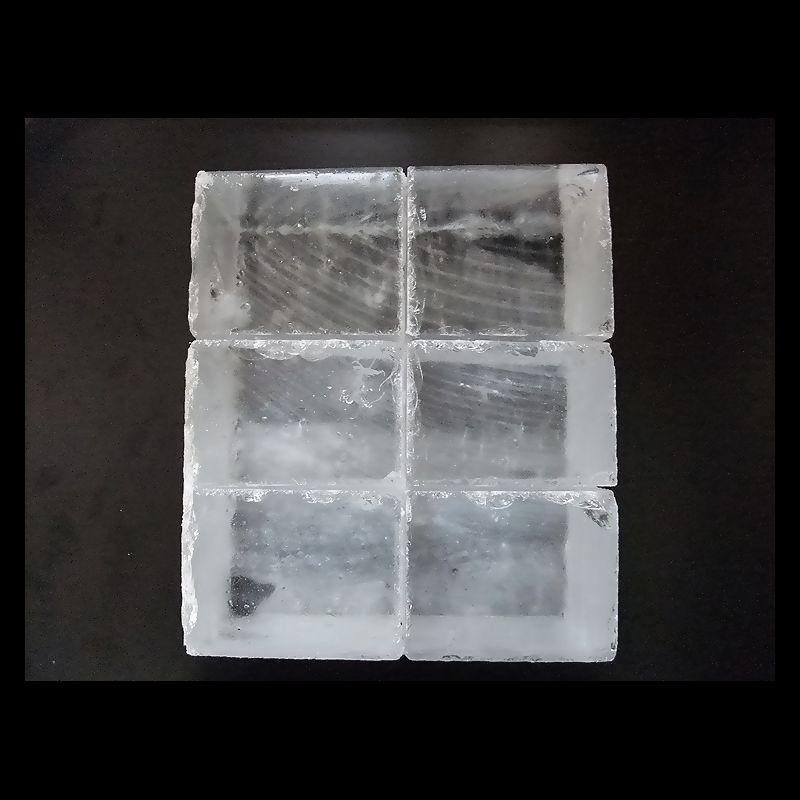 鈴鹿山系純氷 氷屋さん 氷 約12kg 3貫目 角氷 かたまり 氷塊 1貫目3本 [あす楽]