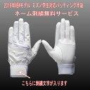 【送料無料、メール便配送】 手袋刺繍サービス!! ミズノ  天然皮革 バッティング手袋 学生対応(両手用)(1ejeh13310) ※代引きの場合は送料がかかります