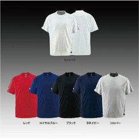 【左片胸2重ネーム刺繍】 デサント ジュニア用 ベースボールシャツ Tシャツ 少年用ウェア JDB200