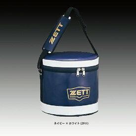 ゼット ZETT 野球 ボールケース ネイビー ホワイト (BA255)
