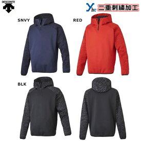 【左片胸2重ネーム刺繍】 デサント バリアフリース トレーニングウェア DBX2760