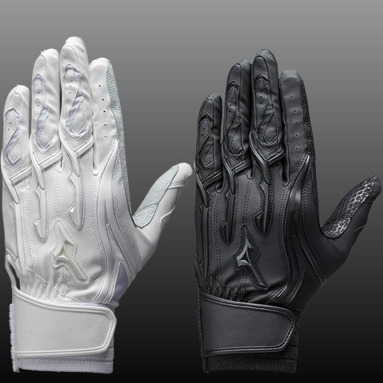 期間限定セール【NEWモデル.送料無料(メール便配送)】 手袋刺繍サービス ミズノプロ バッティンググローブ(両手用) シリコンパワーアーク MI (1EJEH131)※代引きの場合は送料がかかります