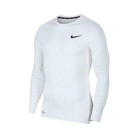 ナイキ NIKE アンダーウェア 長袖 メンズ ナイキプロ BV5589 野球 アンダーシャツ インナー 大人 ホワイト トレーニングシャツ