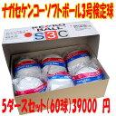 お買い得!!ナガセ ケンコーソフトボール3号検定球5ダース(60球セット)