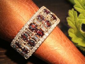 アレキサンドライト 1カラット越え 幅広デザイン ダイヤモンドもたっぷり 稀少石 指いっぱいに広がる贅沢なカラーチェンジ PT900リング 指輪 重ねつけ 一文字 1点もの/