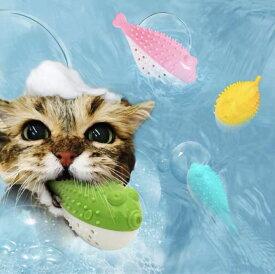 【3月5日限定☆猫おもちゃ全品10%OFF!!】猫 おもちゃ 猫 おもちゃ 一人遊び 猫 噛む おもちゃ 猫 歯磨き おもちゃ 魚型 猫噛むおもちゃ 猫おもちゃ フグ