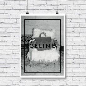 \ お部屋のイメチェン!! / 送料無料【 Grace cat Art 】サイズが選べるアートポスター / アートパネル / キャンバスパネル アート / グラフィック アート / インテリア アート / ギフト 【 オマージュモチーフ:CELINE / セリーヌ 】