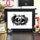 マラソン限定クーポン+P5倍【 Grace cat Art 】サイズが選べるアートポスター + 木製フレーム額装セット / アート / …