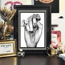 【 おうち時間にいろどりを! 送料無料 】【 Grace cat Art 】サイズが選べるアートポスター + 木製フレーム額装セッ…
