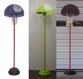 お子様のバスケを始めるきっかけにどうぞ キッズ 低学年 バスケットゴール KBG-190 屋外 室内 家庭用 バスケットボール ゴール リング プレゼント