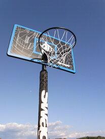 ミニバスから一般まで対応 レイアップの練習にも SWG-305ST ポールパッドも標準装備 バスケットゴール 屋外 家庭用 バスケットボール ゴール バックボード リング