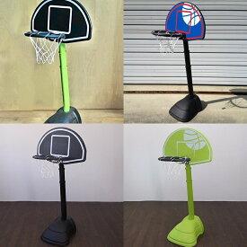 ぶつかっても安心な樹脂製 簡単高さ調節 キッズ バスケットゴール KBG-135 お子様に感動のバスケ体験を! お部屋のオブジェにも 屋外 室内 家庭用 バスケットボール ゴール おもちゃ リング