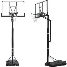 ハンドルを回すだけの簡単高さ調節 BG-305DX バスケットゴール 屋外 家庭用 バスケットボール ゴール バックボード リング