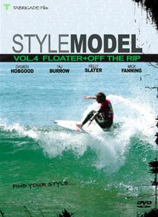 """""""スタイルモデル(STYLE MODEL vol.4) フローター+オフザリップ FLOATER+OFF THE RIP""""【大好評のスタイルモデル差が出るフローターとオフザリップをフォーカス】《郵送240円可能》/サーフ サーフィン SURFIN SURF 便利/DVD サーフィンタイムセール"""