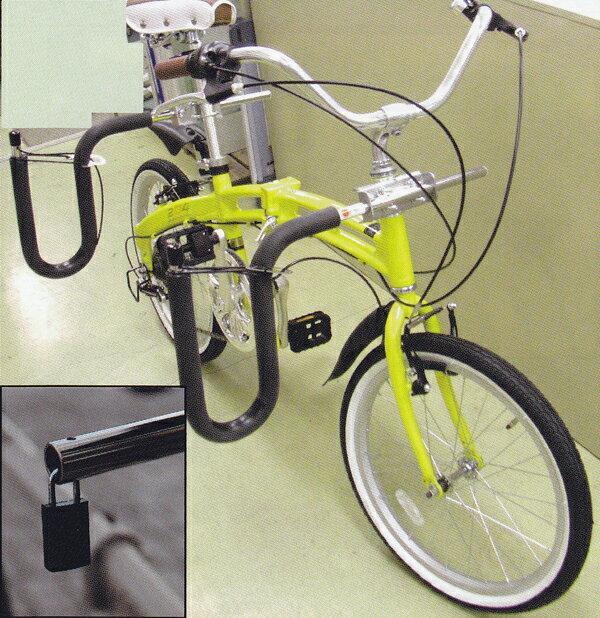 """""""自転車用サーフボードキャリアセット(CAPキャップ) BICYCLE SIRFIN SURFBOARD CARRIER/バー部分口径19.1cm""""送料無料《サーフボード運搬に!海辺在住必需品に鍵(別売)がつきました》"""
