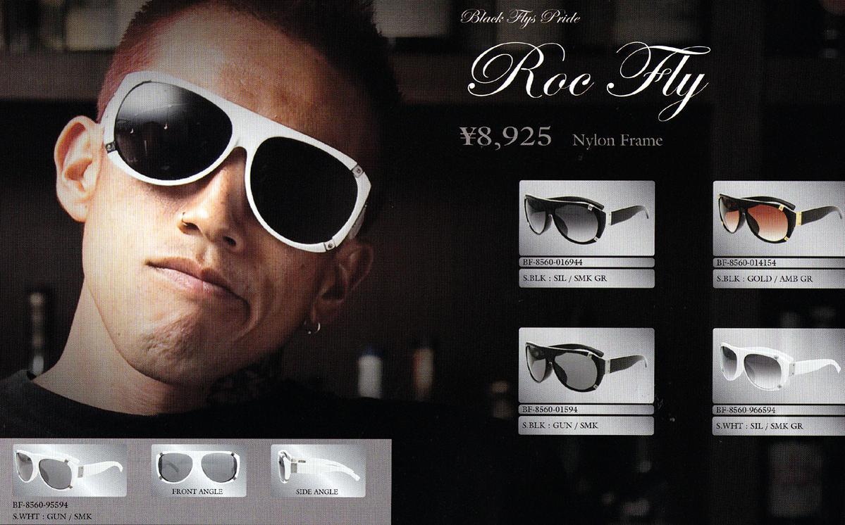 """""""ブラックフライズ (BLACK FLYS) ロックフライ ROC FLY""""【凝ったメタリックな作りです!】/サングラス アイウェア SUNGLASS"""