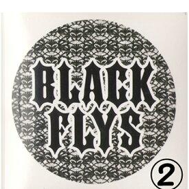 """ブラックフライズ(BLACK FLYS)ステッカーSTICKER1""""【大特価の最安値挑戦】郵送指定で120円可能-代引き決済不可 サングラスアイウェア専門のレイバンオークリー度付きウェアアパレルはtシャツキャップ無地"""
