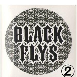 """ブラックフライズ(BLACK FLYS)ステッカーSTICKER1""""【大特価の最安値挑戦】郵送指定で120円可能-代引き決済不可 サングラスアイウェア専門のレイバンオークリー度付きウェアアパレルはtシャツ"""