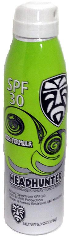 """""""ヘッドハンター (HEADHUNTER) Kid'sSunscreen SPF50 Clear Body Spray キッズサンスクリーンローションスプレー式 6oz/180ml""""《郵送400円可能》コスメ 化粧品/日焼け止め UVカット 紫外線 UV Natural ナチュラル"""