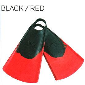 ハイドロ(HYDRO)オリジナルスウィムフィンボディーボードORIGINAL SWIM FIN BODYBOARD/BLACKRED メーカー ソックス 素足 柔らかい