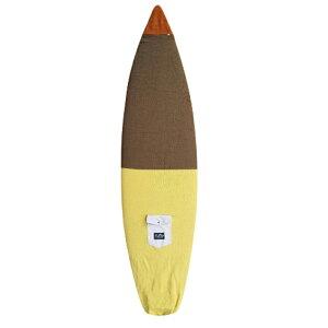 """ディスティネーション(DESTINATION DS SURF)5'6""""〜6'0""""(183cm)ナチュラルソックスソフトケースショートボードUS NATURAL SOCKS SHORTBOARD 郵送指定で送料無料−代引決済不可 ボードケースは手作りニット激"""