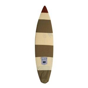 """ディスティネーション (DESTINATION DS SURF) 5'6""""〜6'0""""(183cm) ナチュラルソックスソフトケースショートボードUS NATURAL SOCKS SHORTBOARD/BEIGEBROWNBORDER  ボードケースニット激安トリップトランスポーター"""