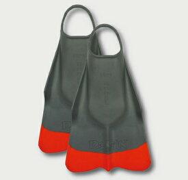 ダフィン (Da FIN) スウィムフィン SWIM FIN/GreyOrange グレーオレンジ 送料無料 ボディーボード BODYBOARD ブギーボード ブギーボード ソックス 必要 メーカー 使い方 足ひれ