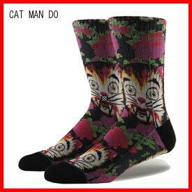 """""""スタンス(STANCE)メンズキャットマンドゥソックス靴下CAT MAN DO SOX/L(25.5-29.0cm)""""郵送指定で送料無料−代引決済不可 正規品販売代理店"""