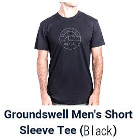 """ワールドサーフリーグ(WoldSurfLeague)グランドスウェル半袖tシャツGround Swell Shoet Sleeve T-Shirts""""《郵送250円可能--代引き決済不可》"""
